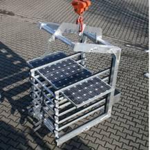 Solarmodulgabel